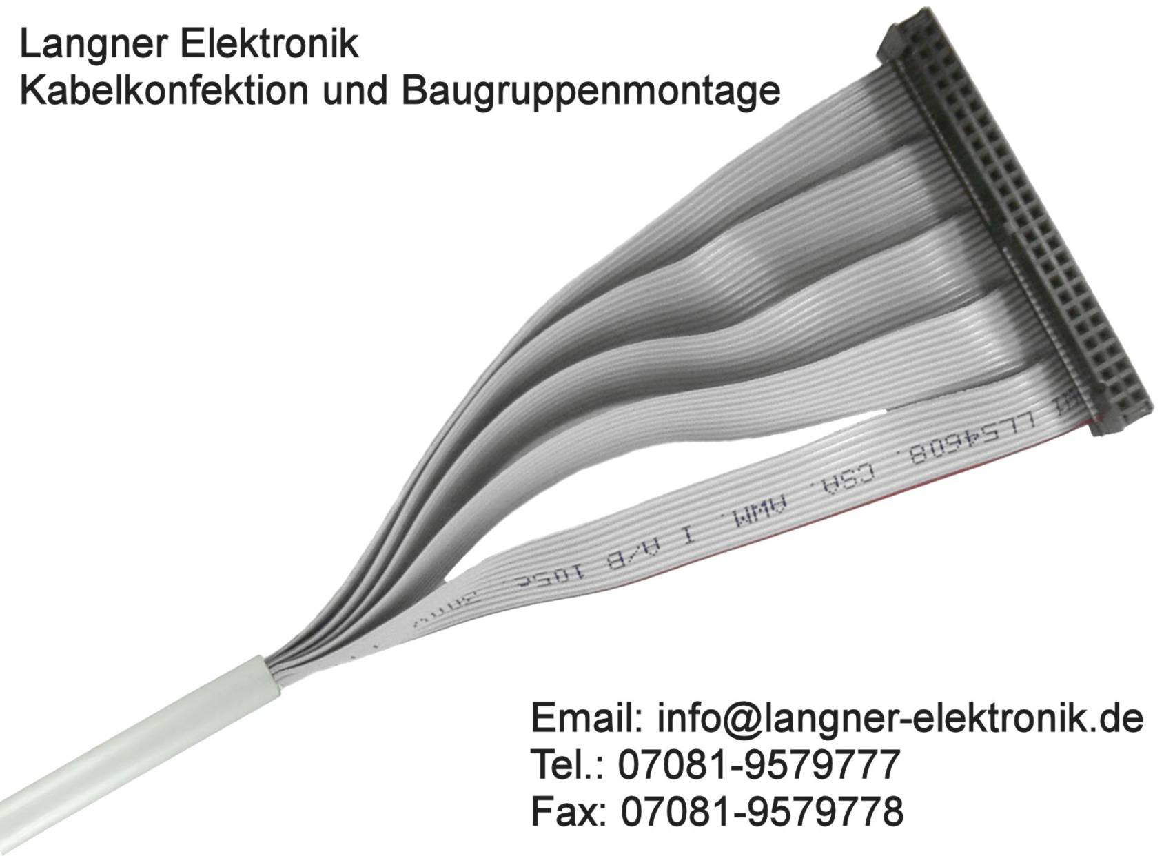 Flachbandkabel – Konfektion und Herstellung von Kabel